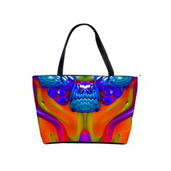 Lava Creature Large Shoulder Bag by icarusismartdesigns