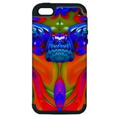 Lava Creature Apple Iphone 5 Hardshell Case (pc+silicone) by icarusismartdesigns