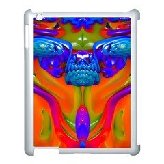 Lava Creature Apple Ipad 3/4 Case (white) by icarusismartdesigns