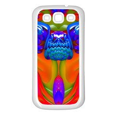 Lava Creature Samsung Galaxy S3 Back Case (white) by icarusismartdesigns