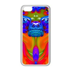 Lava Creature Apple Iphone 5c Seamless Case (white) by icarusismartdesigns