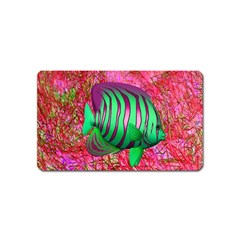 Fish Magnet (name Card) by icarusismartdesigns