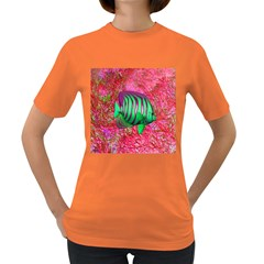 Fish Women s T-shirt (colored) by icarusismartdesigns
