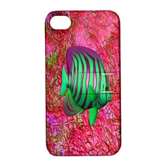 Fish Apple Iphone 4/4s Hardshell Case With Stand