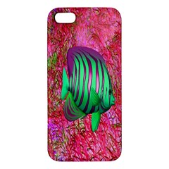 Fish Apple Iphone 5 Premium Hardshell Case by icarusismartdesigns