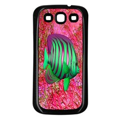 Fish Samsung Galaxy S3 Back Case (black) by icarusismartdesigns