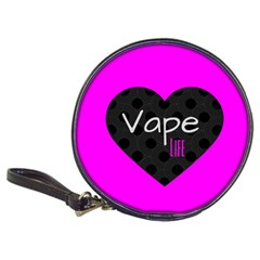 Hot Pink Vape Heart Cd Wallet by OCDesignss
