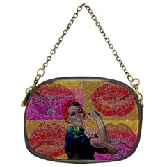 Rosie Pop Lips  Chain Purse (one Side) by OCDesignss