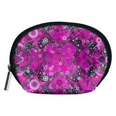 Dazzling Hot Pink Accessory Pouch (medium) by OCDesignss