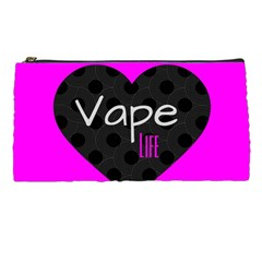 Hot Pink Vape Heart Pencil Case by OCDesignss