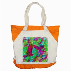 Birds In Flight Accent Tote Bag by icarusismartdesigns
