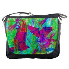 Birds In Flight Messenger Bag by icarusismartdesigns