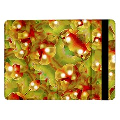 Christmas Print Motif Samsung Galaxy Tab Pro 12 2  Flip Case by dflcprints