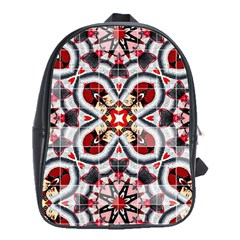 Fashion Girl Red School Bag (large) by OCDesignss