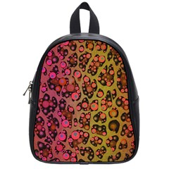 Cheetah Abstract  School Bag (small) by OCDesignss