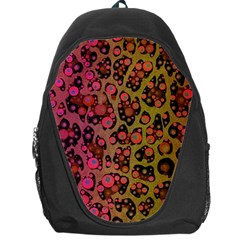 Cheetah Abstract  Backpack Bag by OCDesignss