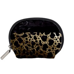 Cheetah Stars Gold  Accessory Pouch (small) by OCDesignss