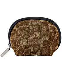 Snake Skin Abstract Accessory Pouch (small) by OCDesignss