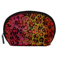 Cheetah Abstract  Accessory Pouch (large) by OCDesignss