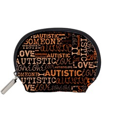 I Love Someone Autistic  Accessory Pouch (small) by OCDesignss