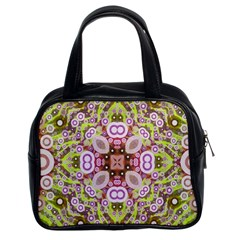 Crazy Abstract Pattern Classic Handbag (two Sides) by OCDesignss