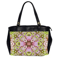 Crazy Abstract Pattern Oversize Office Handbag (two Sides) by OCDesignss