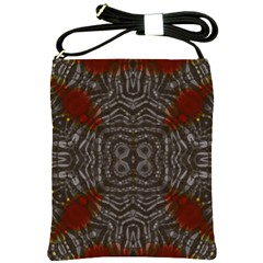 Zebra Abstract Shoulder Sling Bag by OCDesignss