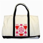 Strawberry Shortcakee Two Toned Tote Bag Front