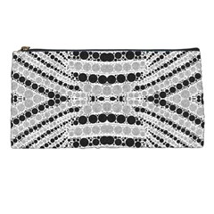 Insane Black&white Textured  Pencil Case by OCDesignss