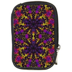 Color Bursts  Compact Camera Leather Case by OCDesignss