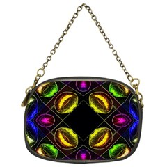 Sassy Neon Lips  Chain Purse (one Side) by OCDesignss