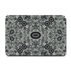 Black&white Abstract Small Door Mat by OCDesignss