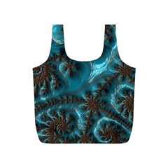Glossy Turquoise  Reusable Bag (s) by OCDesignss