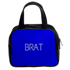 Brat Blue Classic Handbag (two Sides) by OCDesignss