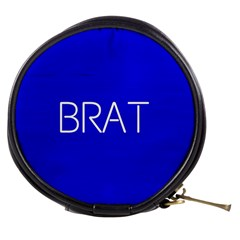 Brat Blue Mini Makeup Case by OCDesignss