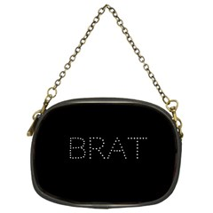 Brat Bling Chain Purse (one Side) by OCDesignss