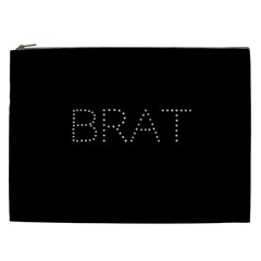 Brat Bling Cosmetic Bag (xxl) by OCDesignss