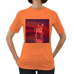 Riding At Dusk Women s T-shirt (colored) by icarusismartdesigns