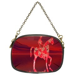Riding At Dusk Chain Purse (one Side) by icarusismartdesigns