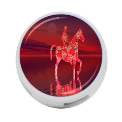 Riding At Dusk 4 Port Usb Hub (two Sides) by icarusismartdesigns