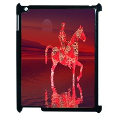Riding At Dusk Apple Ipad 2 Case (black) by icarusismartdesigns