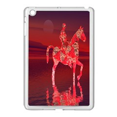Riding At Dusk Apple Ipad Mini Case (white) by icarusismartdesigns