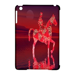 Riding At Dusk Apple Ipad Mini Hardshell Case (compatible With Smart Cover) by icarusismartdesigns