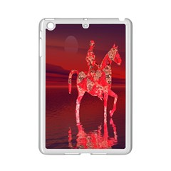 Riding At Dusk Apple Ipad Mini 2 Case (white) by icarusismartdesigns