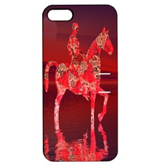 Riding At Dusk Apple Iphone 5 Hardshell Case With Stand by icarusismartdesigns