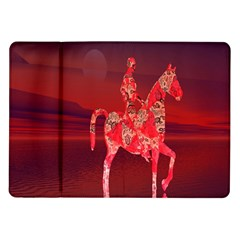 Riding At Dusk Samsung Galaxy Tab 10 1  P7500 Flip Case by icarusismartdesigns
