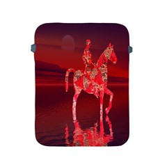Riding At Dusk Apple Ipad Protective Sleeve by icarusismartdesigns