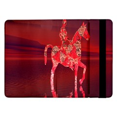 Riding At Dusk Samsung Galaxy Tab Pro 12 2  Flip Case by icarusismartdesigns