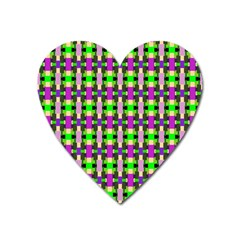 Pattern Magnet (heart) by Siebenhuehner
