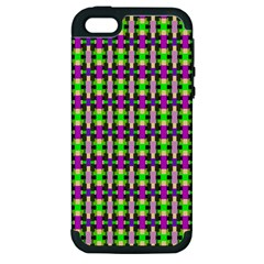 Pattern Apple Iphone 5 Hardshell Case (pc+silicone) by Siebenhuehner